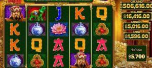 Temujin Treasures slot game